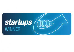 Startups 100 business award winner