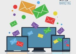 Multicolored-email-icons