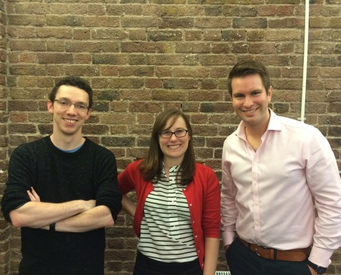 Blog feature photo of UniQuest team members for blog titled Team UQ is growing by the week...
