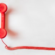 Blog feature illustration of a landline cord phone