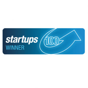 Startups 100 Winner badge