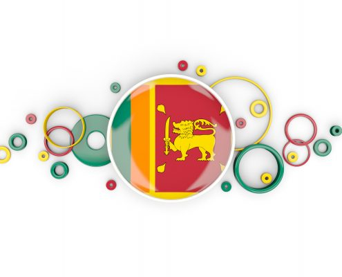Blog feature image with Sri Lankan flag icon