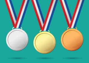Blog feature image of bronze, silver and gold medals