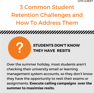 Common student recruitment challenges - challenge 1