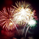 Image of fireworks for UniQuest 2015 summary