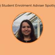 Blog feature image with photo of UQ Enrolment Adviser Carmel