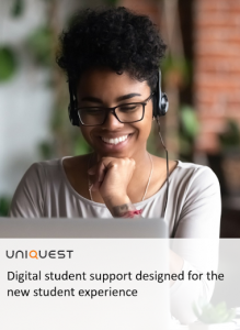 Cover image for PDF of UniQuest's digital student support guide