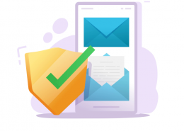 illustration of email privacy
